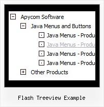 Flash Treeview Example : Javascript Tree Menu
